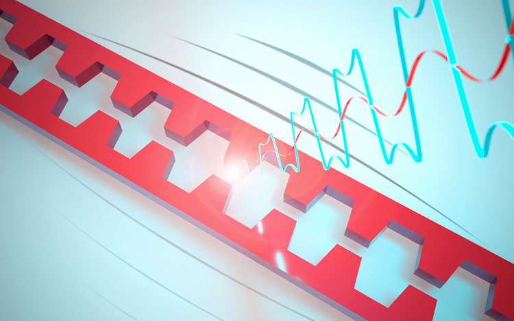 Nanoscale motion sends light into overdrive